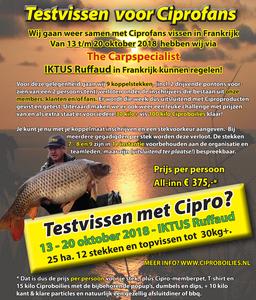 Vissen met Cipro